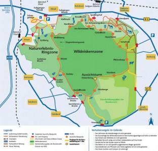 Projektkarte Wanderwege 313x300 Hü und Hott in der Heide